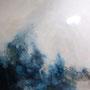 ≪くちる≫ 2008 162.0×162.0  油彩、綿布・パネル
