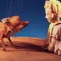 Der kleine Prinz (mit Fuchs)