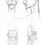 Skizze von Richard Koelner: Kaiser Altoum