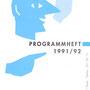 Frontseite des Programms 1991/92