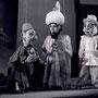 Markthändler, Kalif Chasid, Wesir Mansor