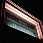 Am 7. Oktober 1956 wurde der bis heute bestehende Schriftzug über dem Theatereingang gesetzt.
