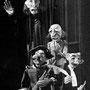 Don Basilio und Giovinetto (oben) von Richard Koelner, Alcalde und Notar (unten) von Christian Schuppli