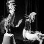 Der Hahn von Courot und das Perlhuhn, Foto: Paul Merkle