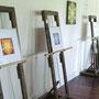 Kunstwerke umrahmten den Empfang im Farbwerk St. Radegund