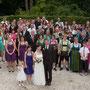 Die bunte Hochzeitsgesellschaft!