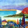Manerba del Garda 2015 Aquarell 36 x 48 cm