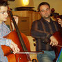 Rene and me playing Bach