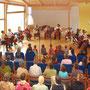 Celloensemble in a kindergarden