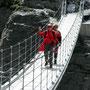 Hängebrücke in Sulden