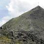 Austieg zum Oberen Sattelkopf 2590m