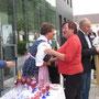 Frau Bürgermeister Rosa Malik wurde herzlich begrüßt.