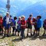 Unser 1. Gipfelkreuz