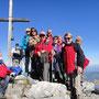 Am Gipfel des Steineck