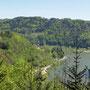 Der Blick zur Burg Werfenstein