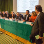 Claude Evin et les neufs Présidents d'URPS