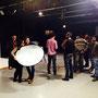 making off Taller de Desnudo e Iluminación de Estudio 2013 Valladolid (LAVA)