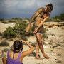 making off Taller de Retrato 2013 Ibiza - foto de Joan Ribas
