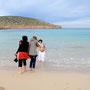 making off Taller Entre Mujeres, fotografía contemporánea 2011 Ibiza - foto Mertxe Trigueros