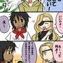 """<div style=""""text-align:left;"""">2009.5.19<br><b style=""""color:pink;"""">アルバイト</b>1ページ目</b><br>出演キャラ<br><a href=""""http://momokazura.blog31.fc2.com/"""" target=""""_blank"""">momokazuraさん</a>宅:金茶ちゃん、クロくん<br>スイナ宅:悟</div>"""