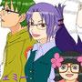 """<div class=""""lef""""><a href=""""http://rakugakifile.blog99.fc2.com/"""" target=""""_blank"""">村崎シヲンさん</a>が天屋通り企画でうちのキャラとシヲンさんキャラをコラボで描いてくださいました!ありがとうございます!懐かしい</div>"""