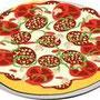 Les savoureuses pizzas au snack