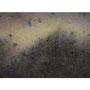 白い夢:ガラスの中に巻き込まれていく真昼 2017 Oil,wax,mineral pigment on lawn with plaster stretched wood panel 72.7×116.7(cm)