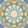 Геометрическое панно 120х90 каждая часть (акрил) ЭСКИЗ