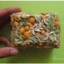 "шкатулка из липы ""Цветущий апельсин"" 11х7х5.7"