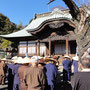 まずは、集合場所の眞光寺さん本堂前で法楽