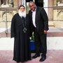 S.E. Bischof Anba Damian und S.E. Bischof Dr. Alex G. Malasusa von der Evangelisch-Lutheranischen Kirche in Tansania (ELCT) am 5. September 2018. Foto: Elke Bruns (GCTJ, OSMTH)
