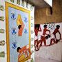"Der neue Themenraum: ""Lehmziegelbau im Alten Ägypten"". Malereien: Daniela Rutica. Foto: Jennifer Peppler"