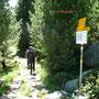Weg zur Boval Hütte
