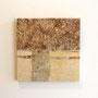 きのこ 300×300×20 仕様 竹紙・ヨシ紙・木 ¥20,000+税