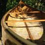 canoë restauré
