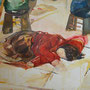 あの子  1620×1303 カンバス 油彩