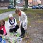 Fotos bei Andrea Weinke-Lau, Verein Gross Laasch Flexibel e.V., Spenden-Pflanzaktion