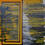 grenze II (140 x 40 cm)