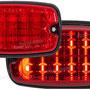 赤LED - 赤レンズ