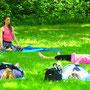 Yoga in der freien Natur. Ein besonderes Erlebnis!
