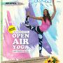Yoga an der frischen Luft!