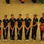 Siegerehrung Samstag - Juniorteam und Alex