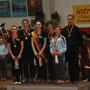 Die Medaillengewinner im Einzelwettbewerb