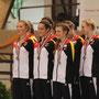 Das Team aus Brakel gewann für Deutschland Silber bei den Teams