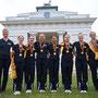 die frisch gebackenen deutschen Juniorenmeister mit Landestrainerin