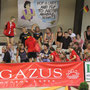 Der deutsche Fanblock fiebert mit