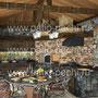 Проект беседки с печным комплексом: русская печь, мангал, вертел, плита под казан, генератор углей