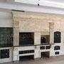 Печной комплекс: плита под казан, мангал, вертел, генератор углей, русская печь, коптильня горячего и холодного копчения, тандыр