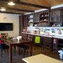 Печной комплекс на кухне: коптильня, русская печь, мангал, вертел, каминная вставка