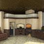 Многофункциональный печной комплекс: газовый гриль, плита под казан, мангал, вертел, плита под казан